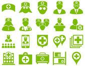 Medizinische icon-set — Stockvektor