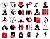 Zestaw ikon medyczne — Wektor stockowy