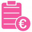 Agreement icon from BiColor Euro Banking Set — Stock Photo #78622844