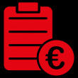 Agreement icon from BiColor Euro Banking Set — Stock Photo #78622620