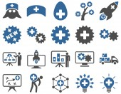 Medical icon set — Stock Photo