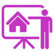 Realtor icon from Business Bicolor Set — Stock Photo #78713926