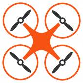 Copter icon — Stock Vector