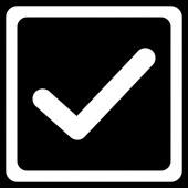 Checkbox icon — Stock Photo