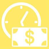 Credit pictogram van Business Bicolor instellen — Stockfoto