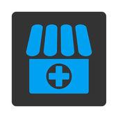 Drugstore icon — Stock Vector
