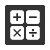 Calculator icon — Stock Vector