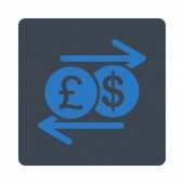 Money Exchange icon — Stock Photo
