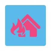Fire Damage icon — Stock Vector