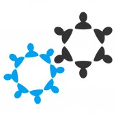 Collaboration Icon from Commerce Set — Stock Photo
