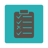 Task List Icon — Stock Photo