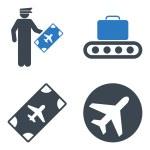 Aviation Icon Set — Stock Vector #79040056