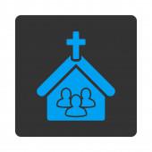 Church icon — Stock Photo