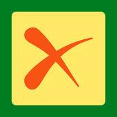 Smazat ikonu — Stock fotografie