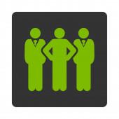 Team icon — Stock Photo