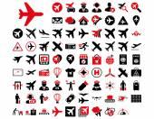Aviation Icon Set — Vecteur