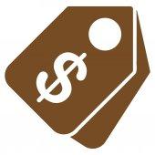 Prezzo Tag icona dal Set di Commerce — Vettoriale Stock