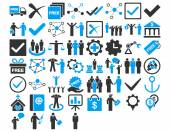 Business Icon Set — Stock Photo