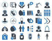 Medical Icon Set — Stock Photo