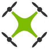 Quadcopter icon — Stock Photo