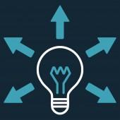 Idea icon — Stock Photo