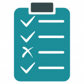 Task List Icon from Commerce Set — Stock Photo