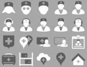 Conjunto de iconos médica — Vector de stock