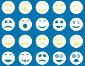 Smile and emotion icons — Stock Vector