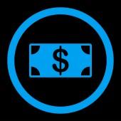 Banknote icon — Stock Photo