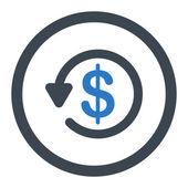 Refund icon — Stock Photo