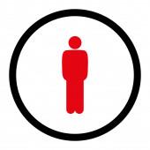 Ícone em pé — Fotografia Stock