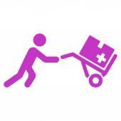 Medyczne centrum ikona — Wektor stockowy