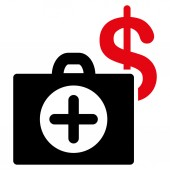 Payment Healthcare Icon — Stock Photo