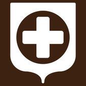 Medical Shield Icon — Stock Vector