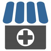 Apotheker pictogram — Stockvector