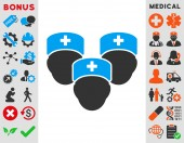 Medical Staff Icon — Stock Photo