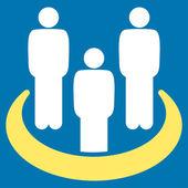Social Group icon — Stock Vector