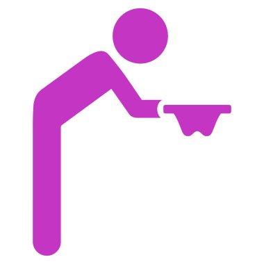 Child Beggar Icon