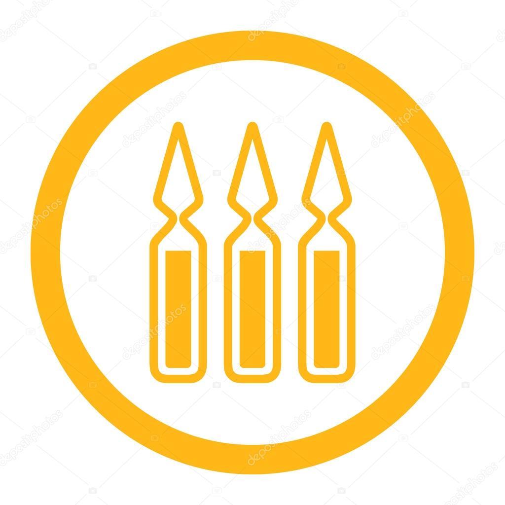 Картинки по запросу вакцинация желтый круг icon