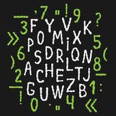 Alfabet — Wektor stockowy
