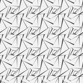 Patrón sin costuras de Vector. textura con estilo moderno. repetición baldosas geométricas con punteado rombo — Vector de stock