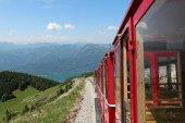 Schafberg Train — Stock Photo