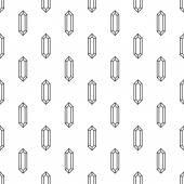 Diamonds seamless pattern — Stock Vector