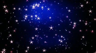 Celebration Stars 1 — Stock Video