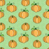 Seanless pattern with pumpkins. Vector illustration. — Stock Vector