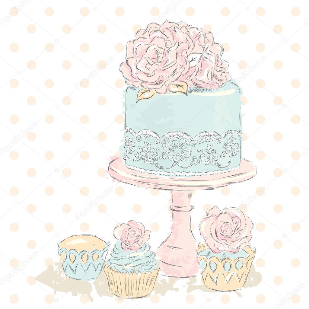Vintage Wedding Cake Prices