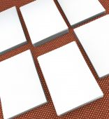 Many cards. template to presentation — Stock Photo