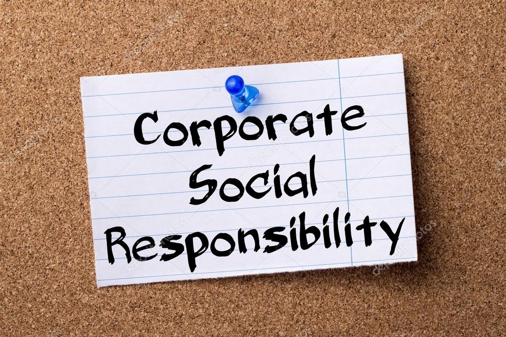 research papers csr 10 introduction: corporate social responsibility means the way in which business firms integrate it is in this response that the use of corporate social responsibility (csr) has emerged to be one.