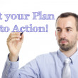 Put your plan into action — Stock Photo #78202408