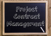Project Contract Management — Stock Photo
